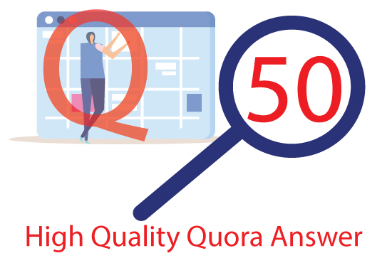 I will promote your product with 50 Quora question answer