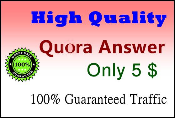 10 High Quality Quora Answer Backlinks