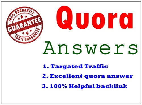 Give you 20 Quora Answer for getting Great traffic