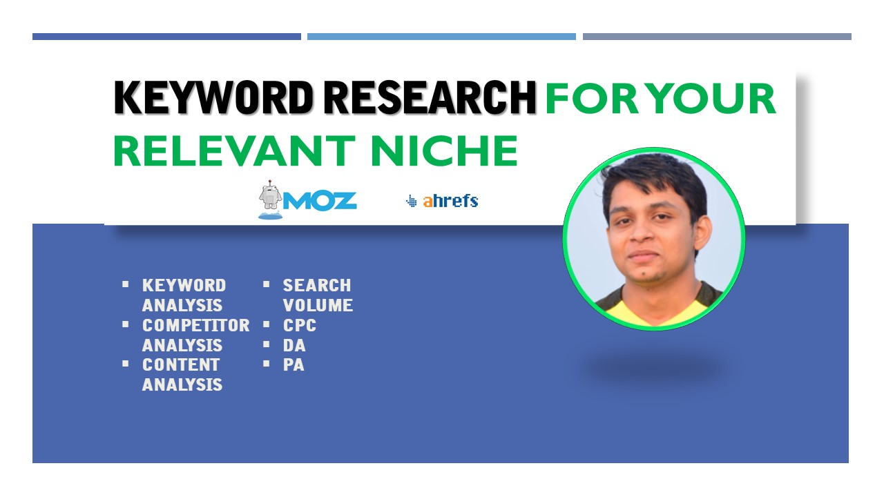 I will provide best keyword for your relevant niche
