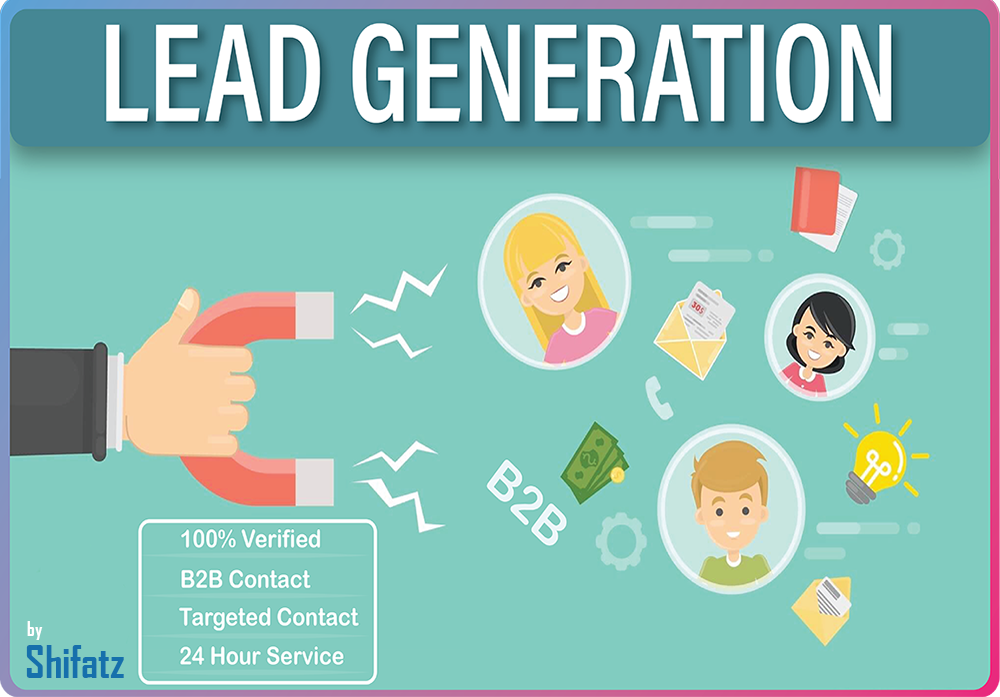 I will do 100 b2b targeted lead generation for you