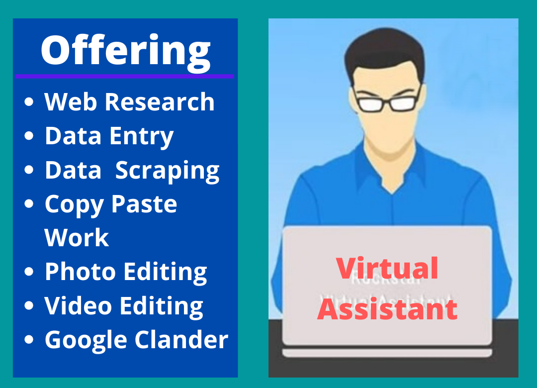I will be your high quality virtual assistant with admin support