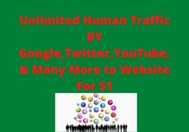 Unlimited Human Traffic for your business website