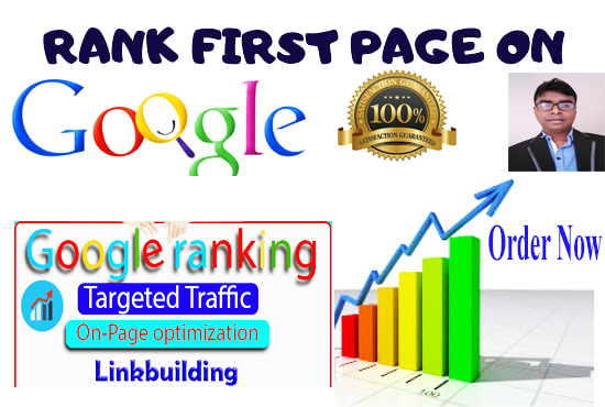 I will Offer you guaranteed Google 1st-page ranking with link building service