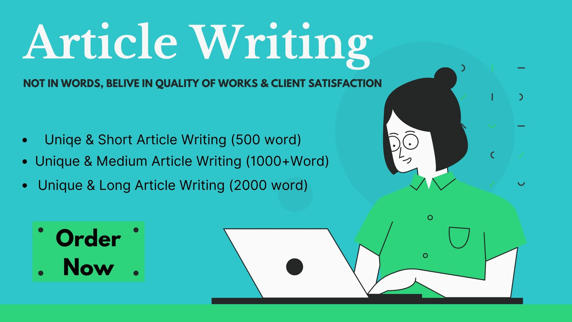 Do 500+ words article Website content or Blogs post writing in any topic.