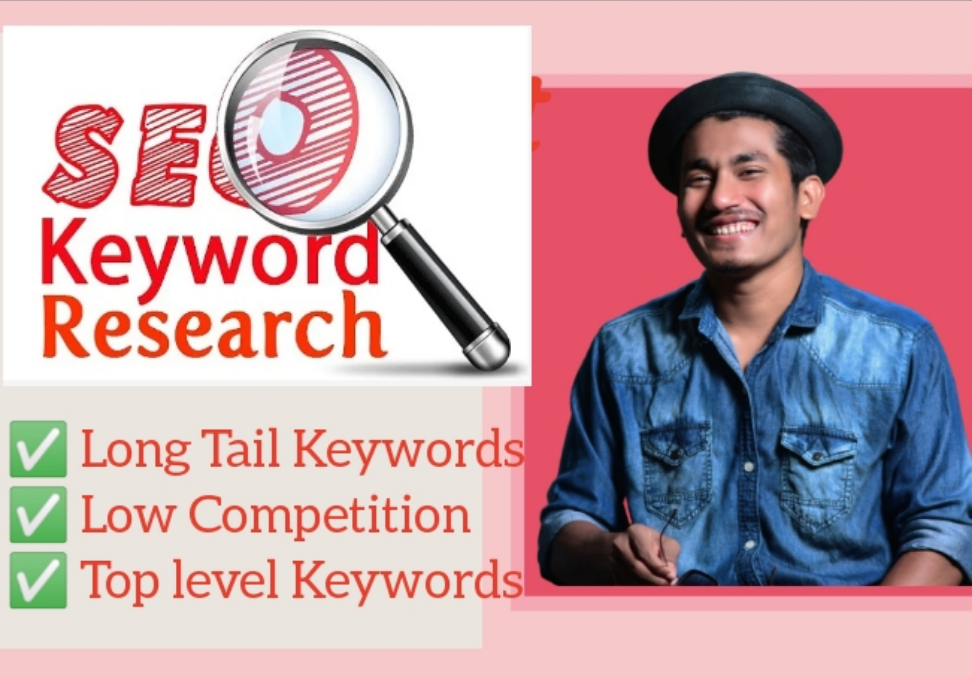 Do In-depth SEO Keywords Research and Competitor Analysis for your website niche