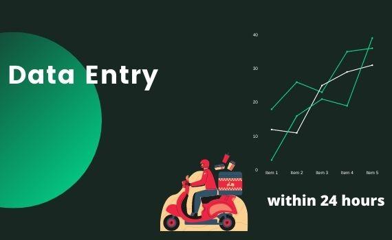 I will provide data entry, copy-paste