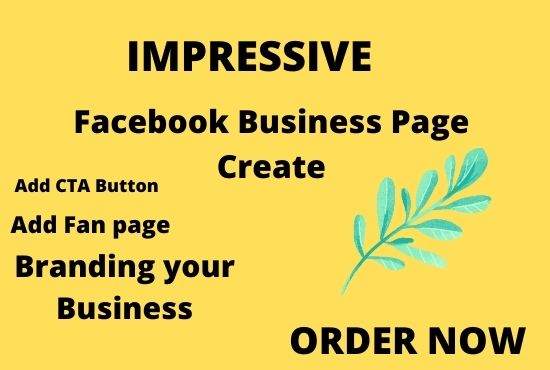 I will facebook business page create