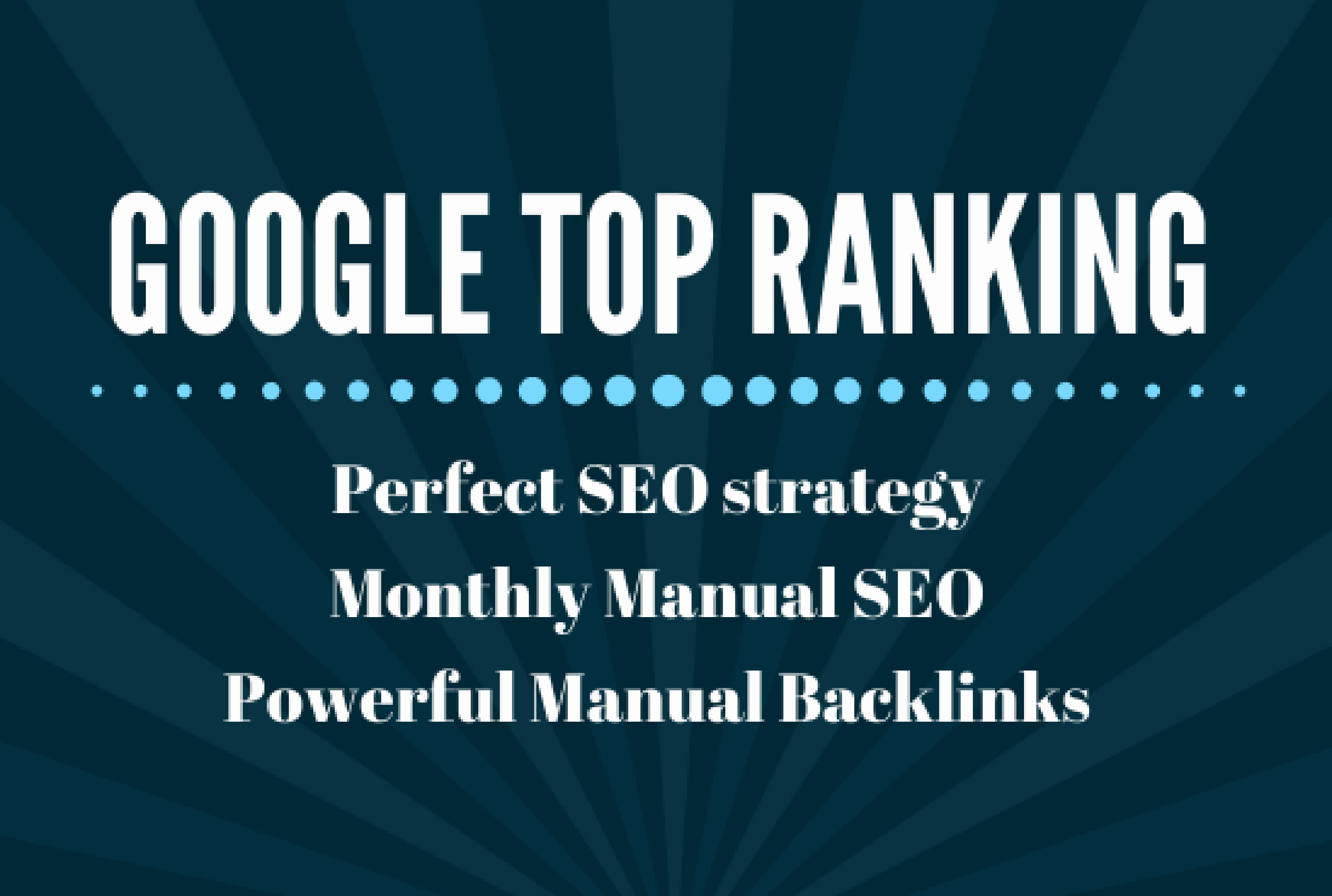 I probide 150 SEO backlinks white hat manual link building service for google top ranking