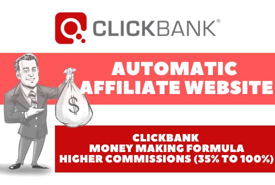 I will create high earnings autopilot clickbank affiliate website