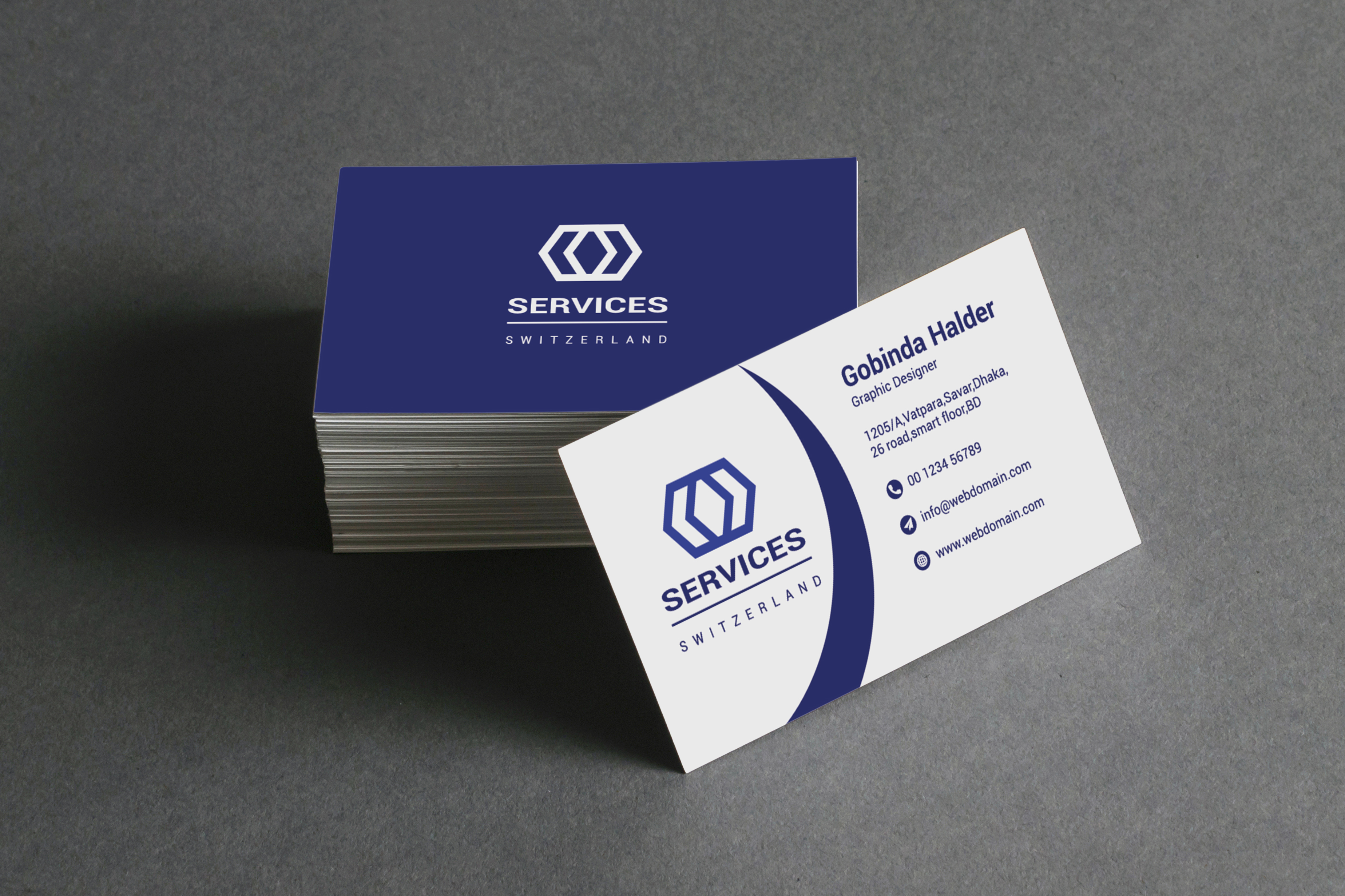 I Will Create Double Sided Amazing Unique Business Card Design for Your Business or Personal