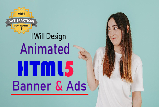 I will design animated HTML5 banners ads for google AdWords