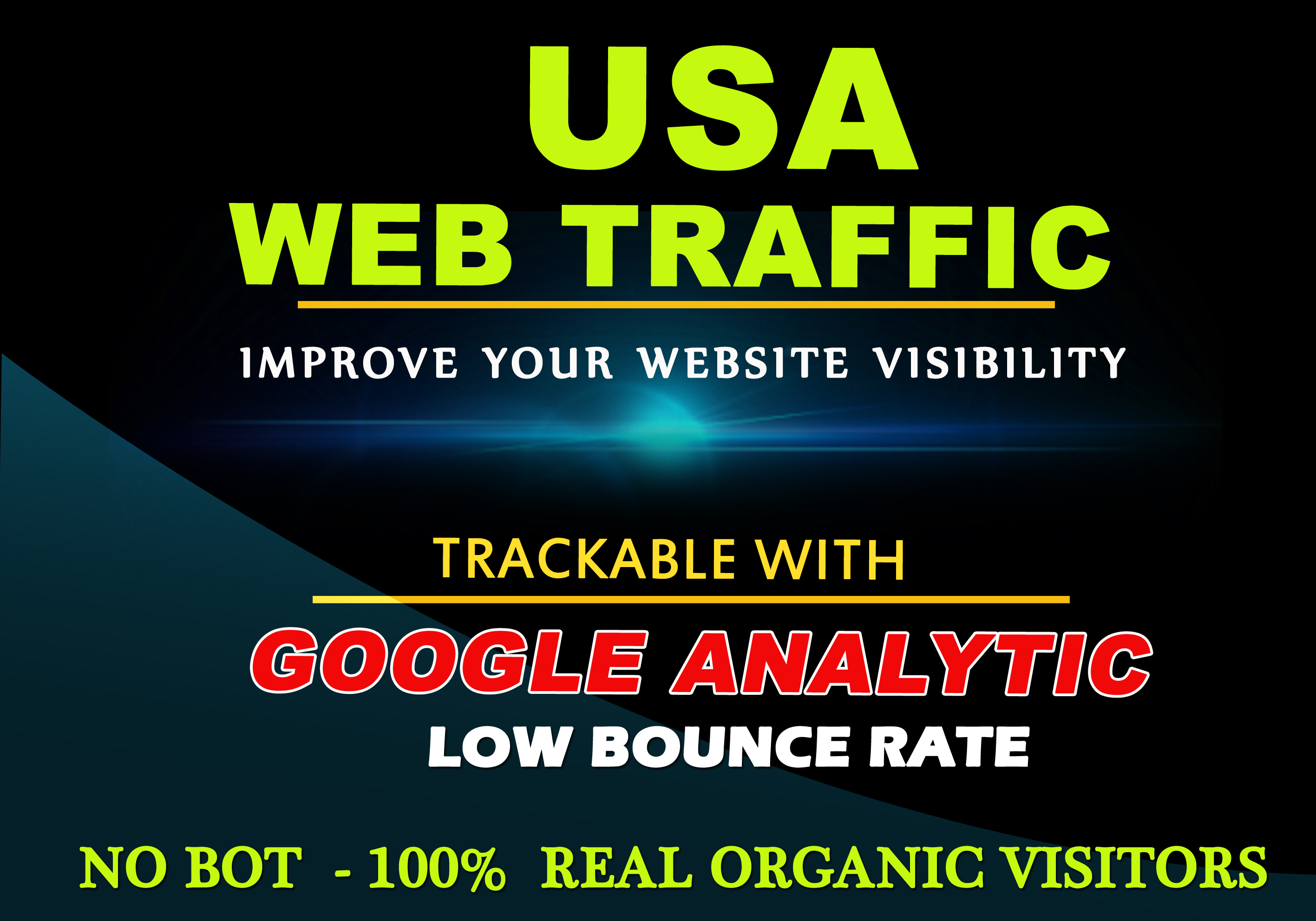 5000 real quality USA web traffic for any website