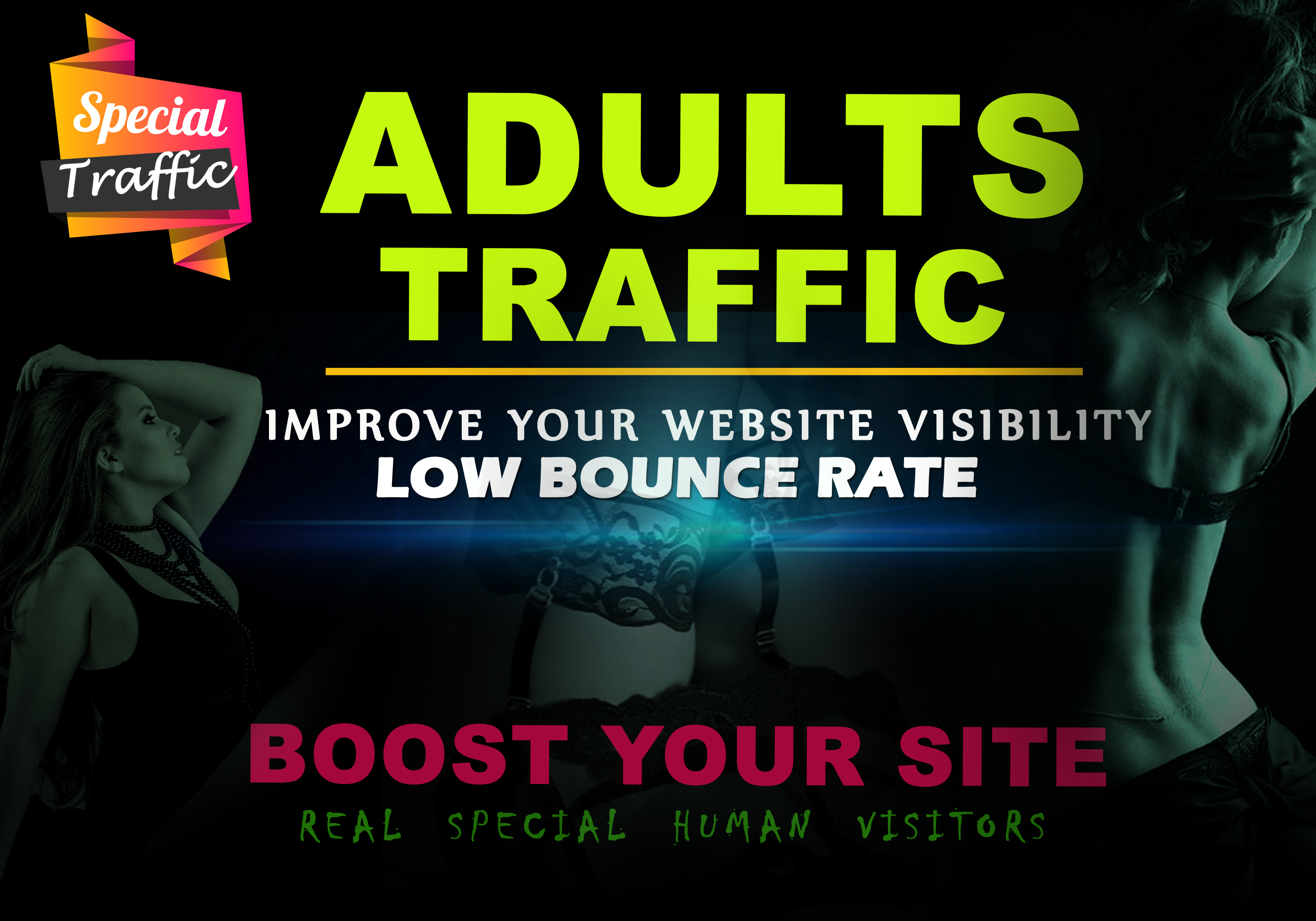 20,000 adult traffic visitors to your any kind of porn gambling adults website