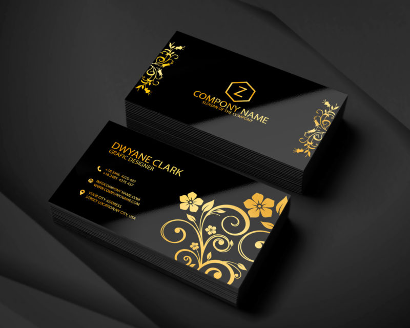 I will create your Modern and Simple Business Card