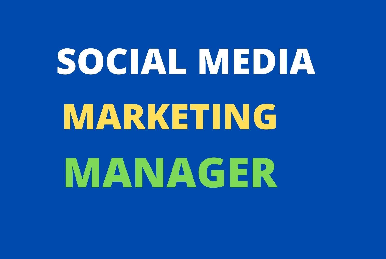 Do social media marketing and advertising