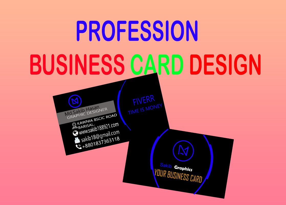 I will design a unique and smart business card for you