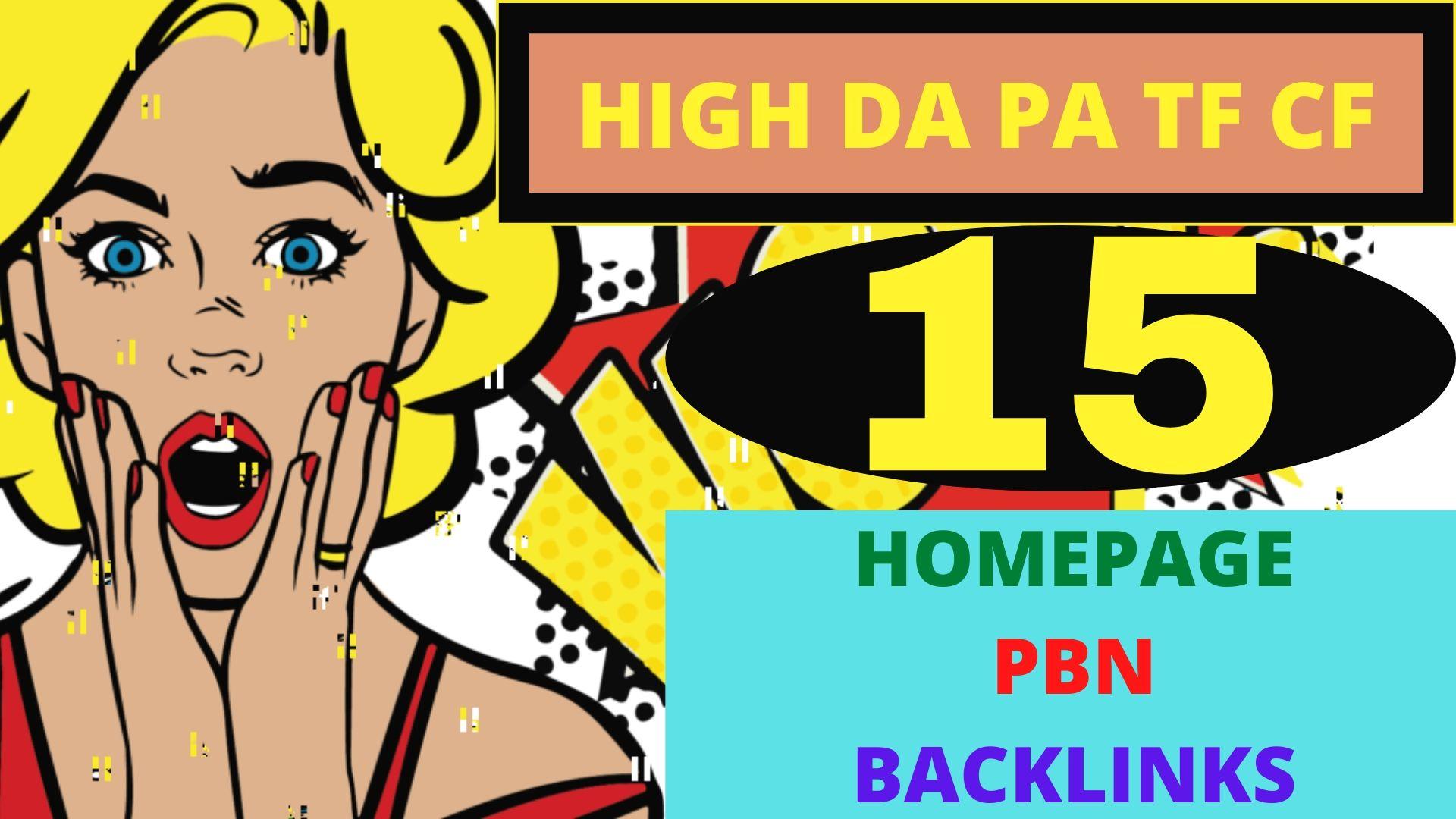 DA 40 to 80 PA 35+ PR 5-9 Web2.0 15 Pbn Backlink in 100 dofollow in unique site