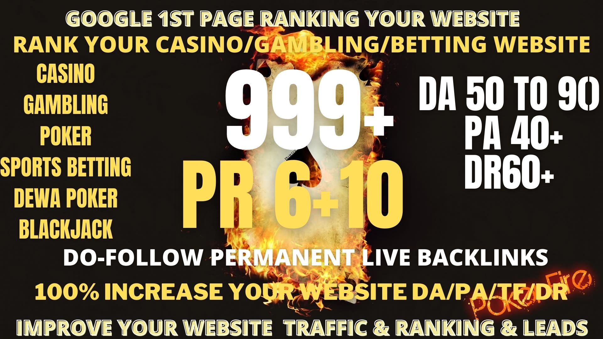 buy one get free one POWERFULL PBN 999+ Casino,  Gambling,  Poker,  Sports related unique site