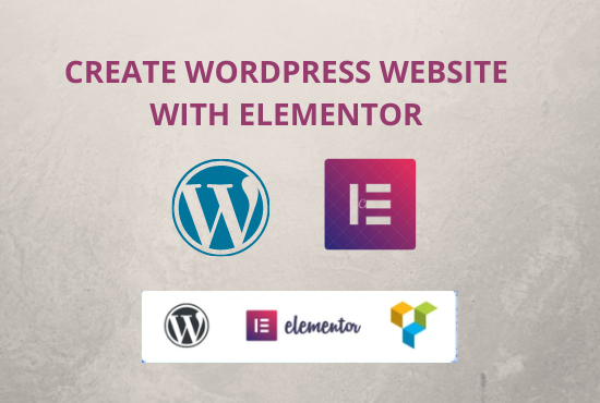 I will design wordpress website with elementor