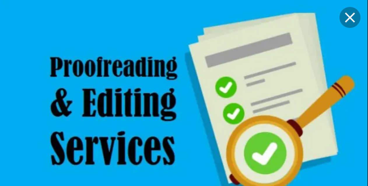 will proofread and edit your written work