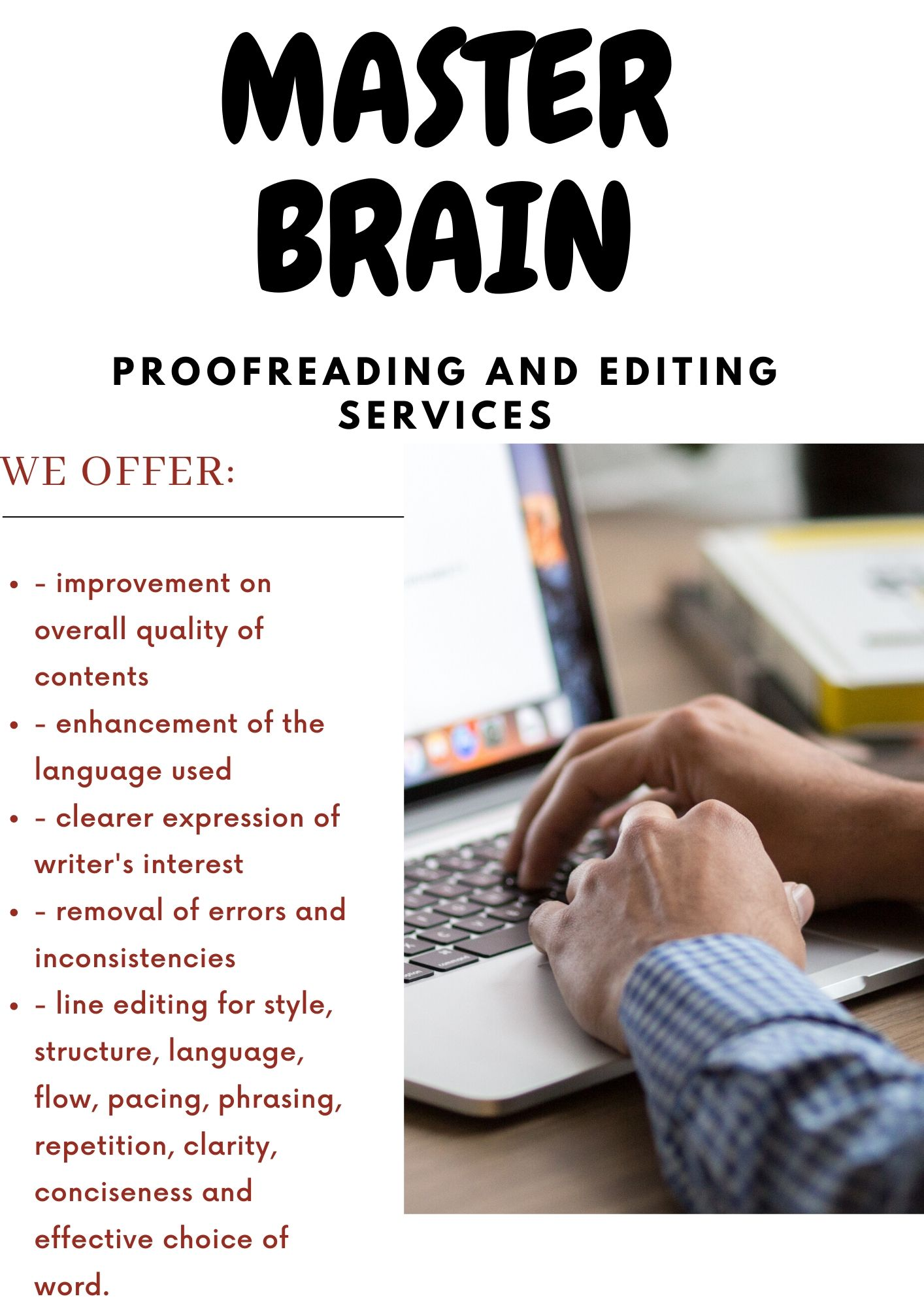 I will do professional book proofreading and editing in 24hrs
