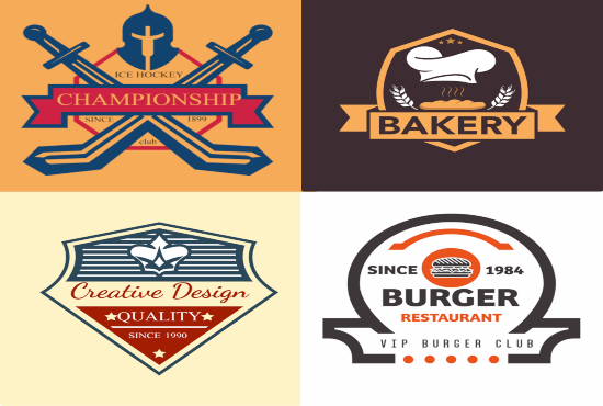 I can do 2 creative vintage, badge and retro logo design concepts