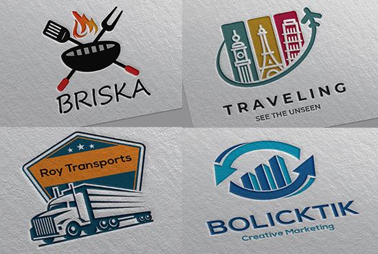 2 professional business logo design concepts by the best logo designer