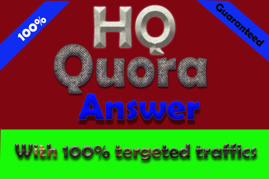 10 HQ Quora Answers together with your keywords