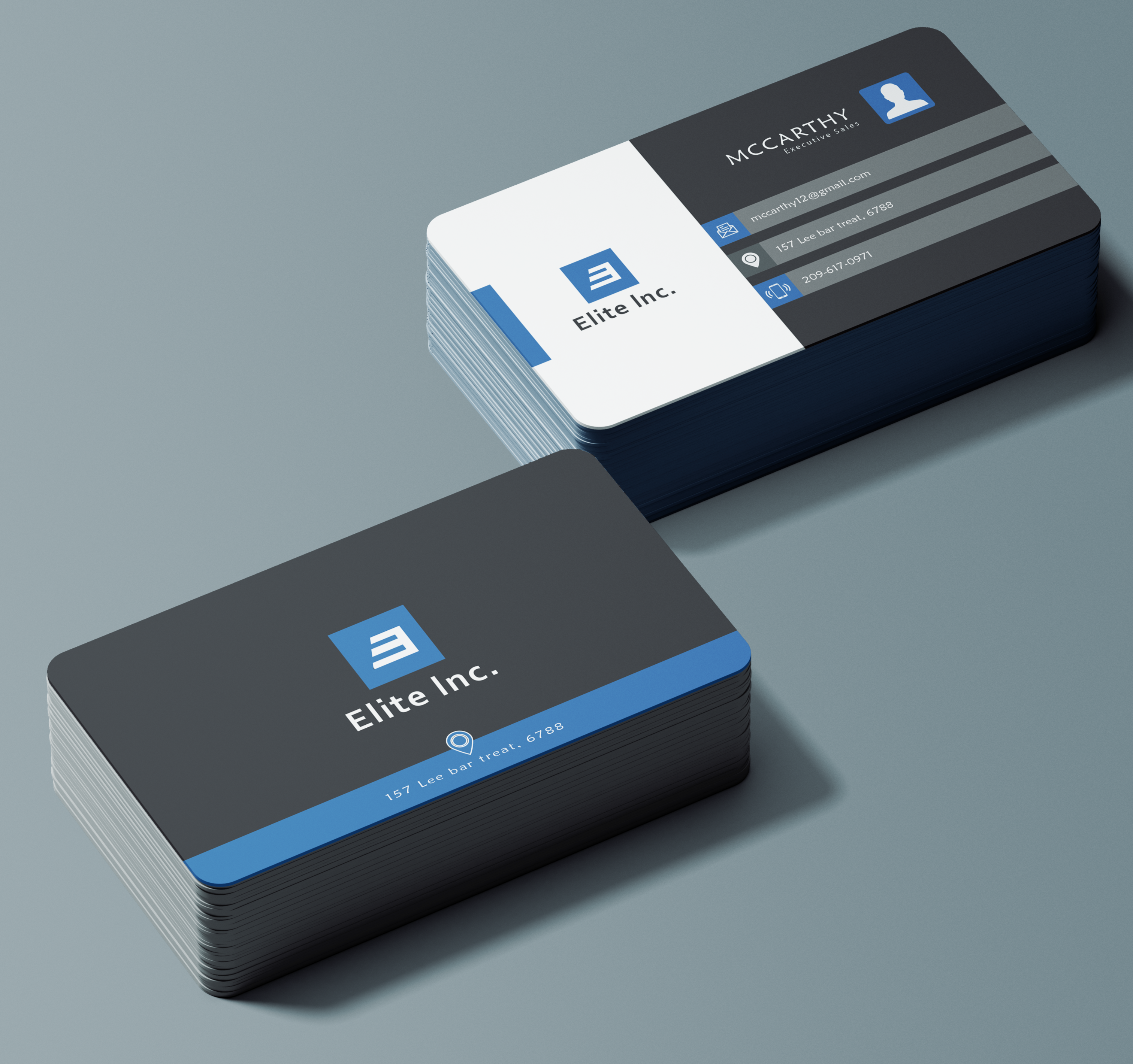 I will do professional business card design in 3 hours