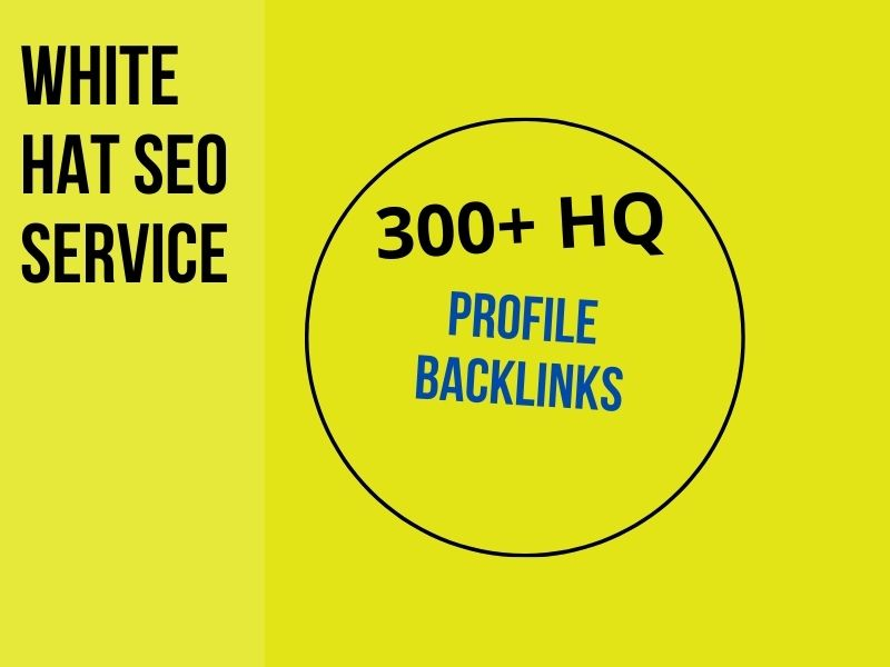I will do 100 HQ dofollow profile backlinks and trust links manual work