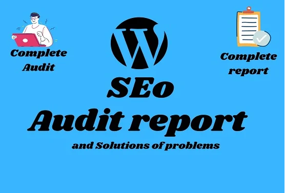 I will provide advance SEO audit report