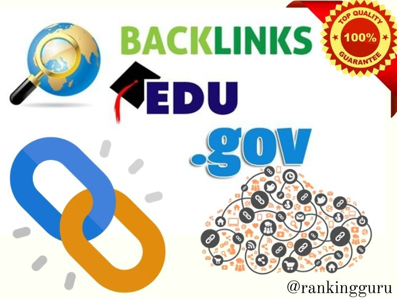 I will manually build PR 9-7 and Mostly dofollow 50 Edu/Gov backlinks for your website