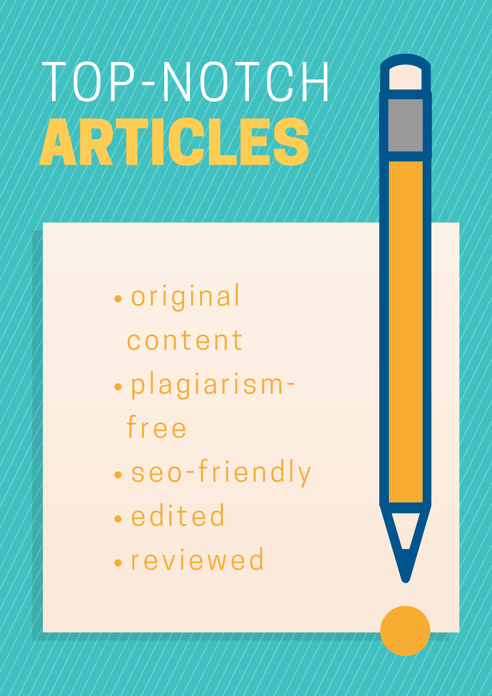 I offer content writing service with negotiable service charges
