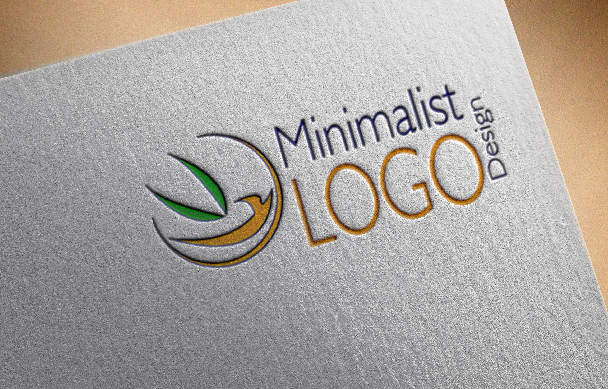 I will design modern minimalist logo for your Business or Website