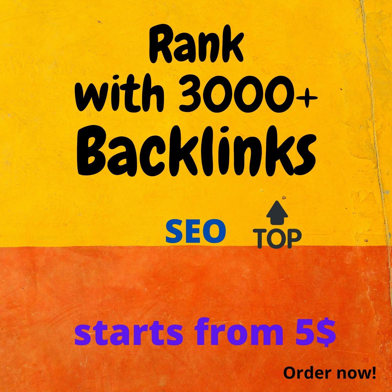 I will do 3000 do follow PR4-PR7 Backlinks.