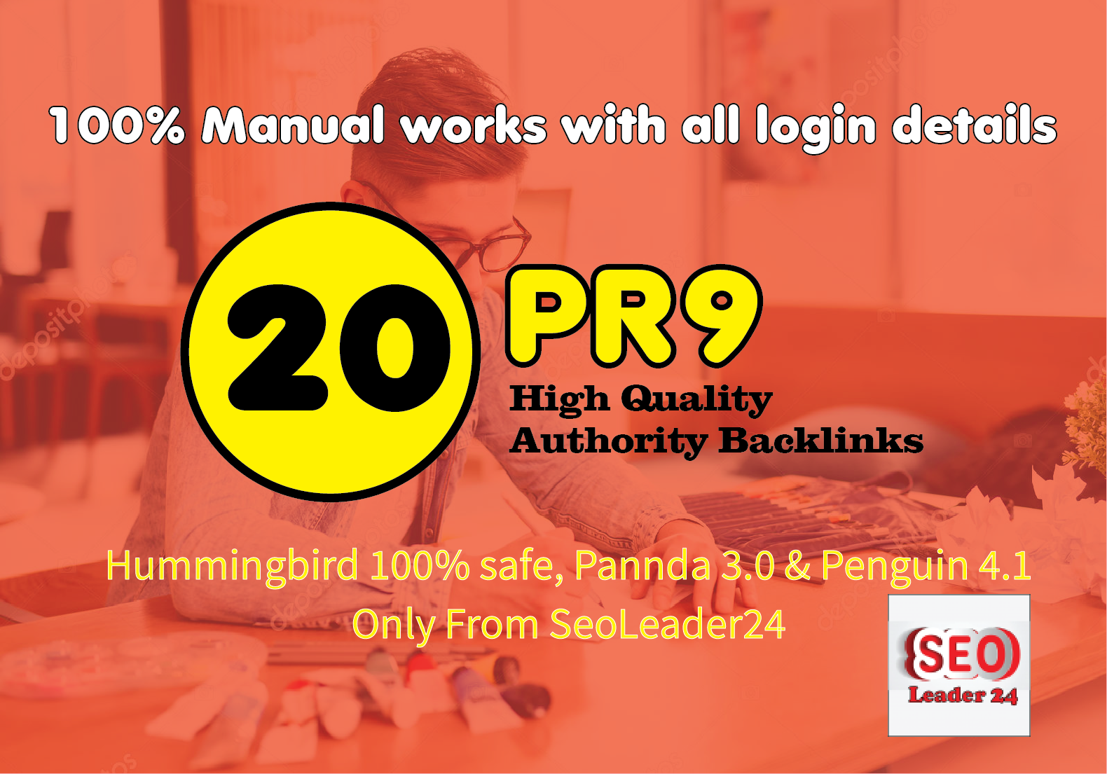 Manually 20 Backlinks DA90+ High Authority Dofollow SEO Profile Backlinks- Fire Your Google Ranking