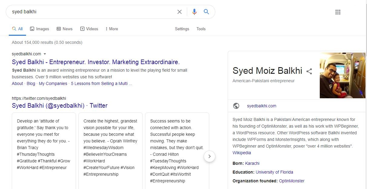 I will create a Google Knowledge Panel for you and your ORG or Co etc
