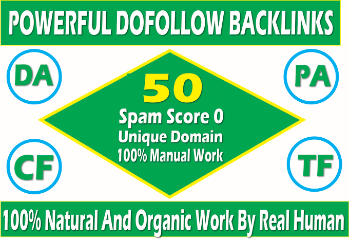 CREATE MANUALLY DA 35+ PA35+ web 2.0 50 Powerful PBN Backlink 50 unique site