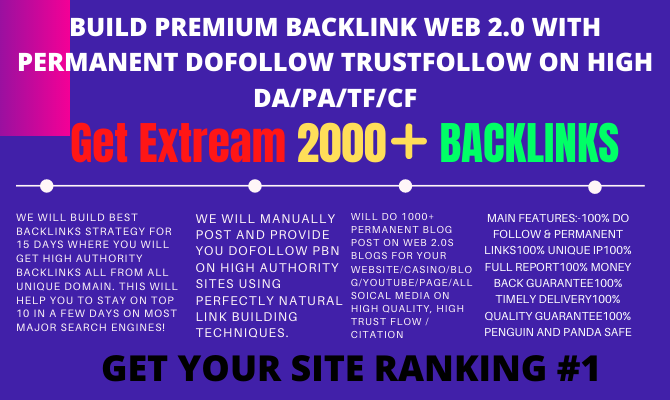 10 Days Off Page SEO with High Authority backlinks strategy Rank Your Website