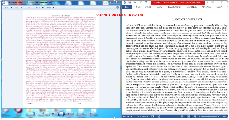 I will transcribe text from PDF,  Scanned and images files to word & excel editable files.