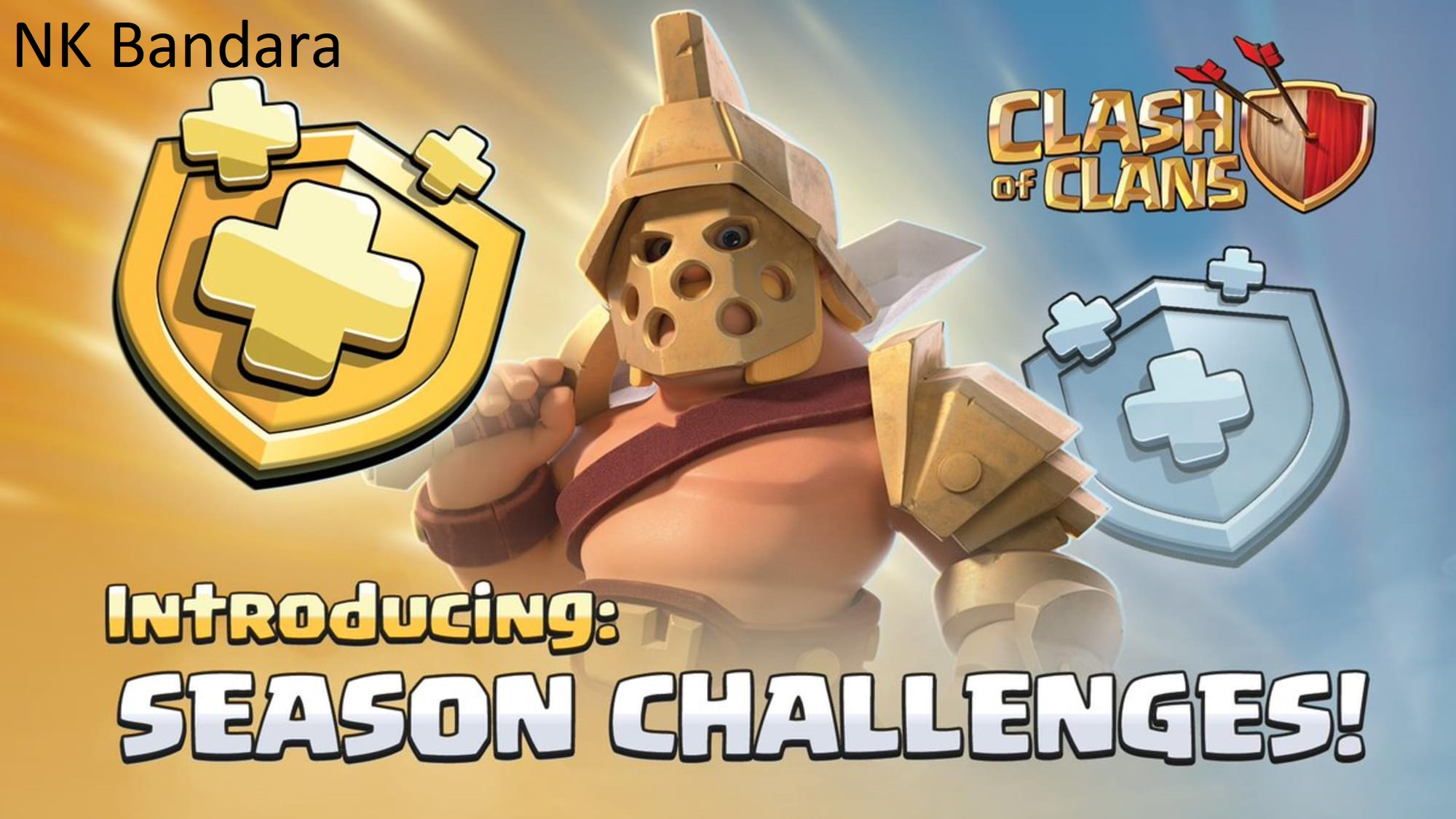 I will complete your season challengers and clan game