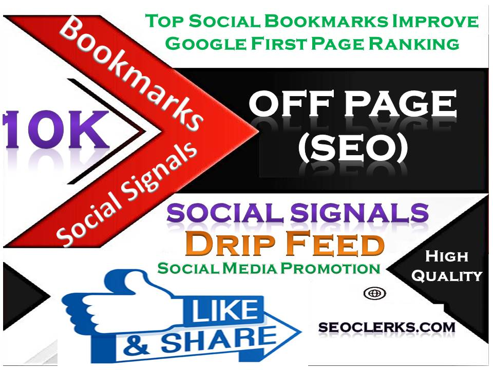 TOP Powerful Site 10,000 Social Signals HQ Bookmark Backlinks SEO Boost increase Google Ranking