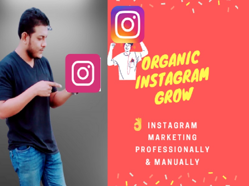 I will do professionally manage instagram marketing promotion.