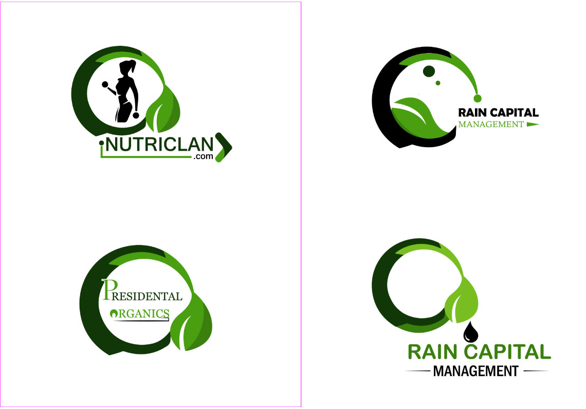 I will natural leaf eco farm clean modern agricultural green modern professional best business logo