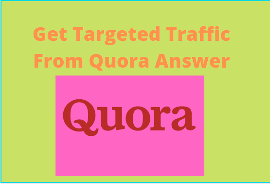 I will promote your websites by best Quora answer with hyperlink