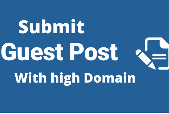 Submit and Publish 3 Guest post within 1 Day
