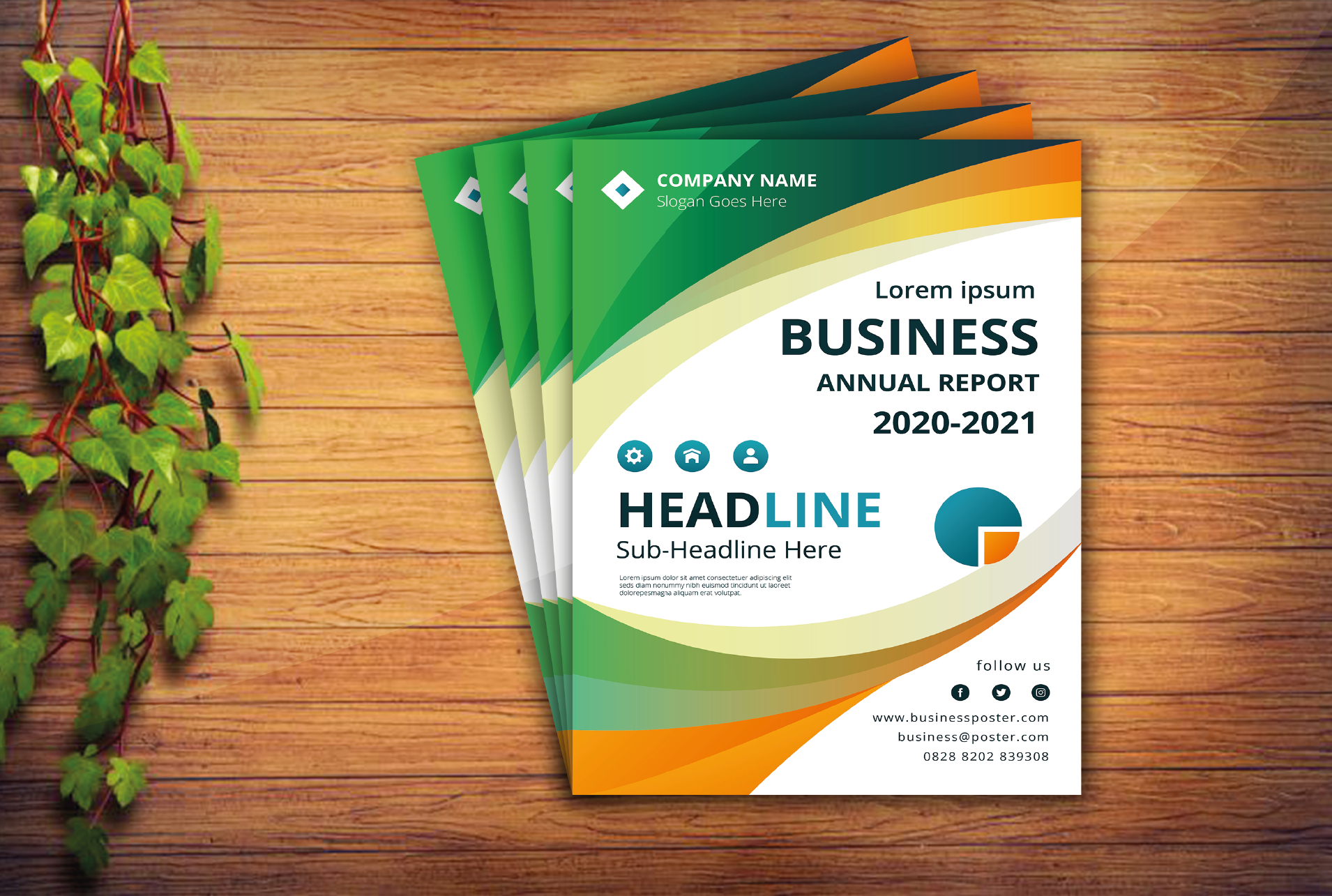 I will do creative business flyer design on time