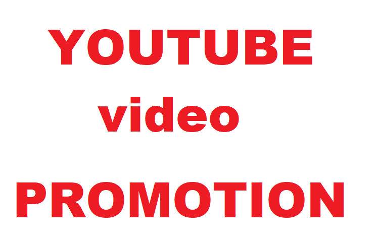 I will do promote your youtube video