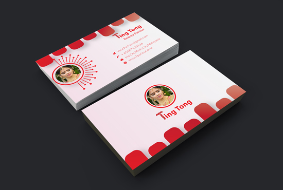 I will do Professional and Creative business card design.